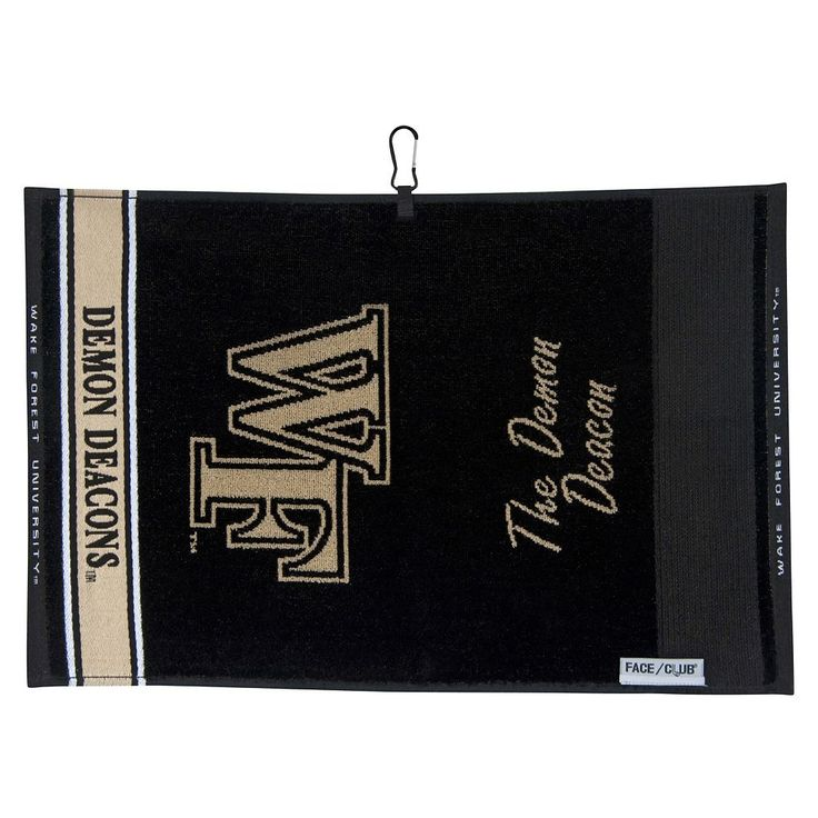 Team Effort Wake Forest Demon Deacons Jacquard Towel, Multicolor