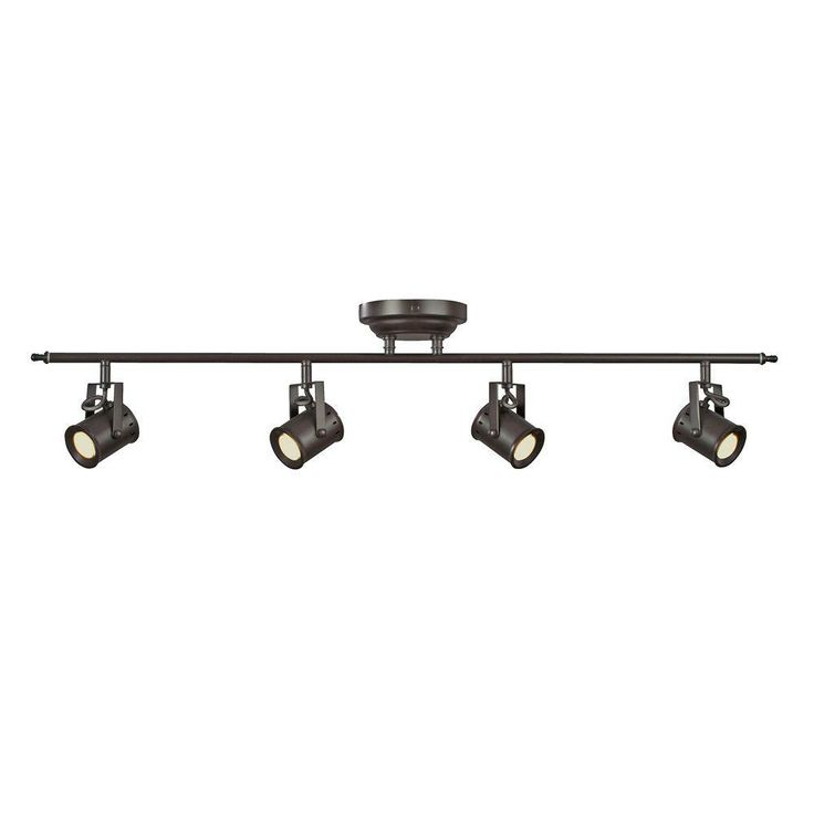 Aspects Studio 4-Light Oiled Rubbed Bronze Dimmable Fixed