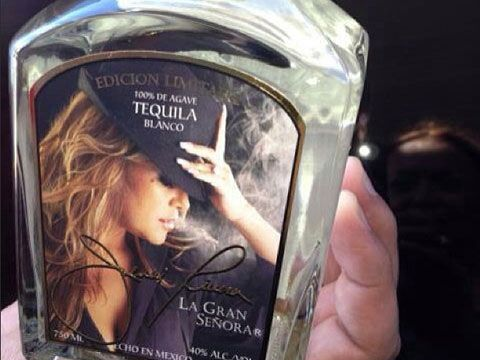 Jenni Rivera Tequila Bottle | Latino Entertainers Owning Drink Brands | Latina