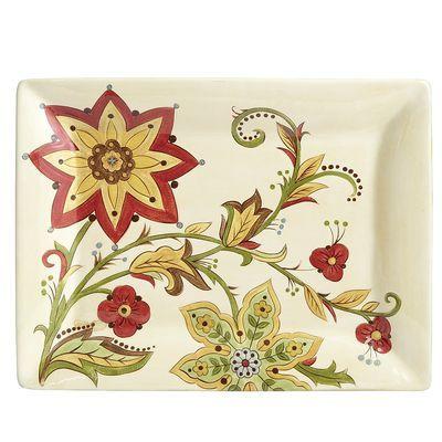 Carynthum Rectangle Platter
