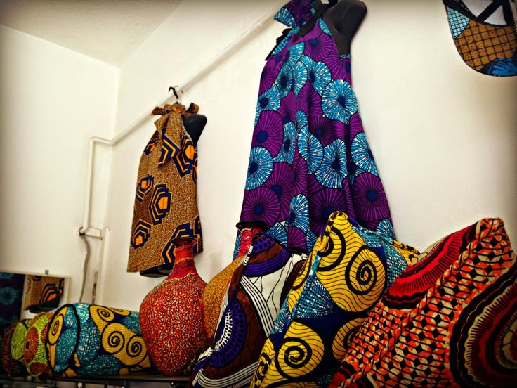 African Prints in Fashion: London Trip: Visiting Vou Brown
