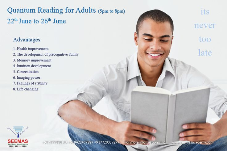Follow-up Quantum Speed Reading Course for Adult by seemasacademy2015 on 500px