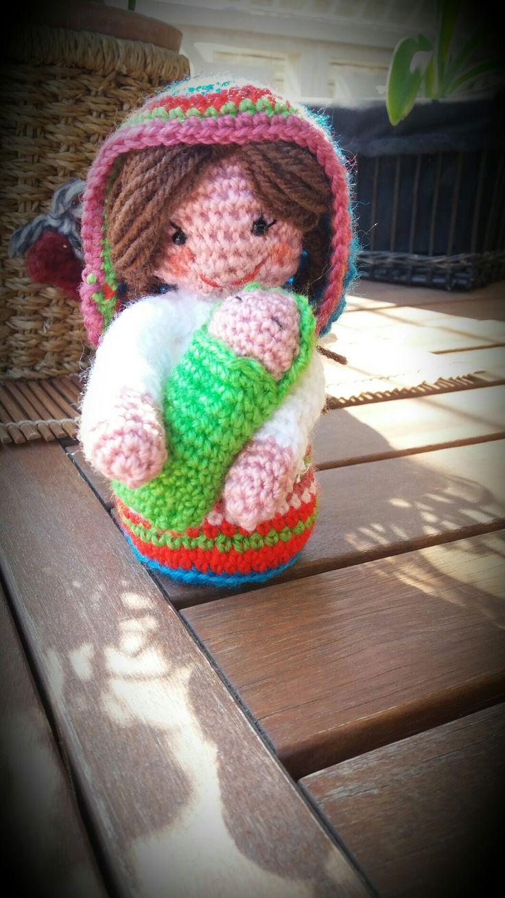 #virgen #maria #belen #amigurumi #crochet