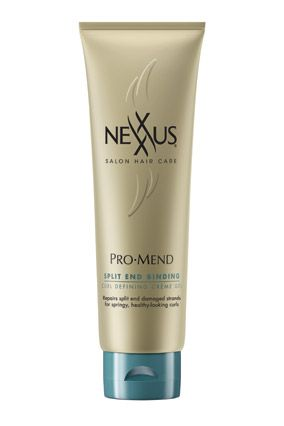 Nexxus ProMend Split End Binding Curl Defining Crème Gel This lightweight formula offers the best of two curl products: It conditions lik...