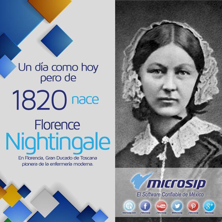 Un día como hoy 12 de mayo pero de 1820, en Florencia, Gran Ducado de Toscana, nace Florence Nightingale, pionera de la enfermería moderna.