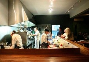 Great dinner the other night at Huxtable Restaurant, Smith St