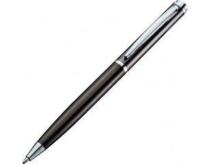 Długopis Bogota II z mechanizmem obrotowym świetnie nadaje się na gadżet reklamowy. Logotyp naniesiemy metodą grawerowania laserowego.
