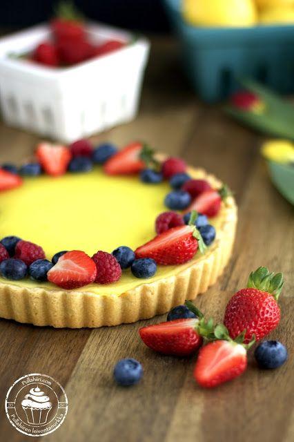 lemon pie with quark