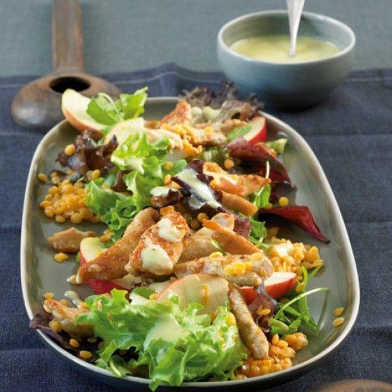 ESSEN & TRINKEN - Salat mit Putenstreifen Rezept