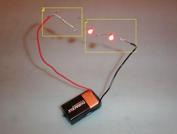 basic led wiring crafting like a boss pinterest. Black Bedroom Furniture Sets. Home Design Ideas