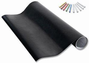 Samolepící fólie na tabule - 45 x 200 cm + 10 kříd