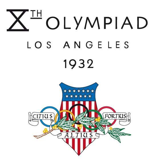 Olympic logo // Los-Angeles 1932 Summer Olympics