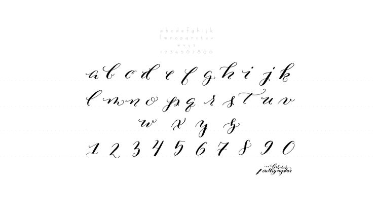 62 Best Images About Calligraphy On Pinterest Fonts