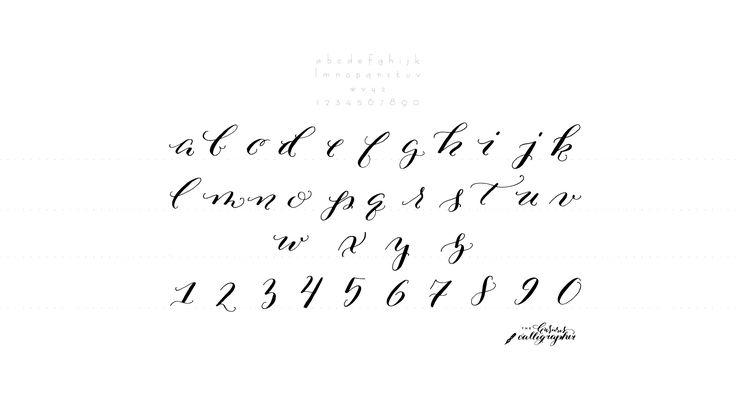 Calligraphy Exercises Pesquisa Do Google Calligraphy