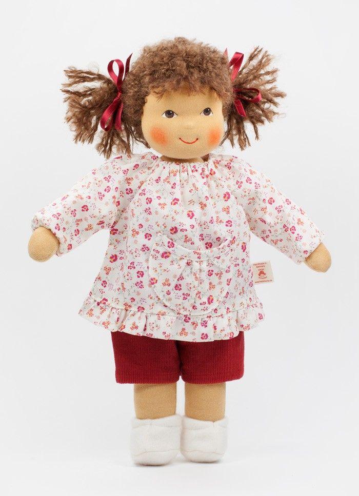 Heidi Hilscher Puppe Lilli in einer Großaufnahme