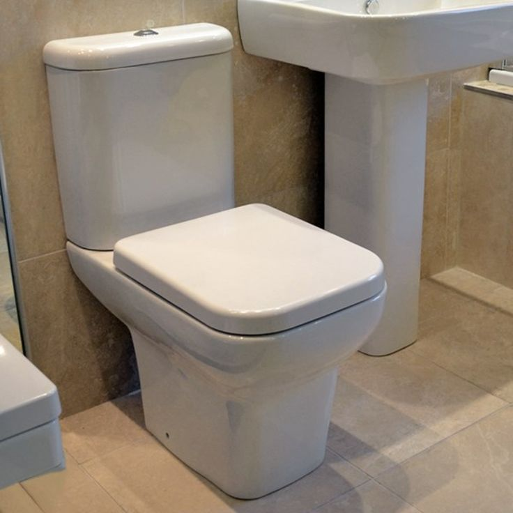 Designed with comfort in mind Clean white high quality hand finish Dual flush cistern (6\/3L) and chrome plated flush button included Includes slow close toilet seat with quick release functionW370mm x D620mm x H800mm 25 year manufacturer guarantee