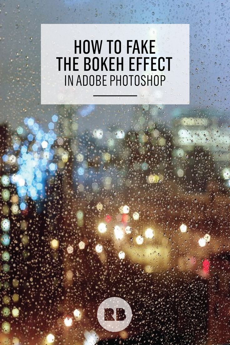 Bokeh Photography Tutorial: Working in Photoshop