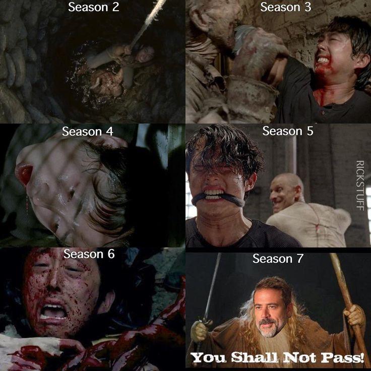 The Walking Dead funny meme Not Glenn