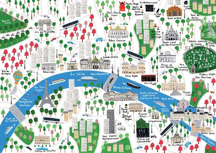 Jamie Malone - Map of Paris