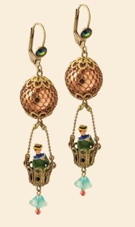 Michal Negrin Paris Balloon Earrings