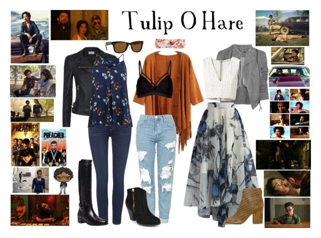 """Tulip O'Hare from Preacher"" by pie-epic ❤ liked on Polyvore featuring Chicwish, Reiss, Alice + Olivia, Paige Denim, Ash, Lipsy, Topshop, Journee Collection, Warehouse and Aquatalia by Marvin K."