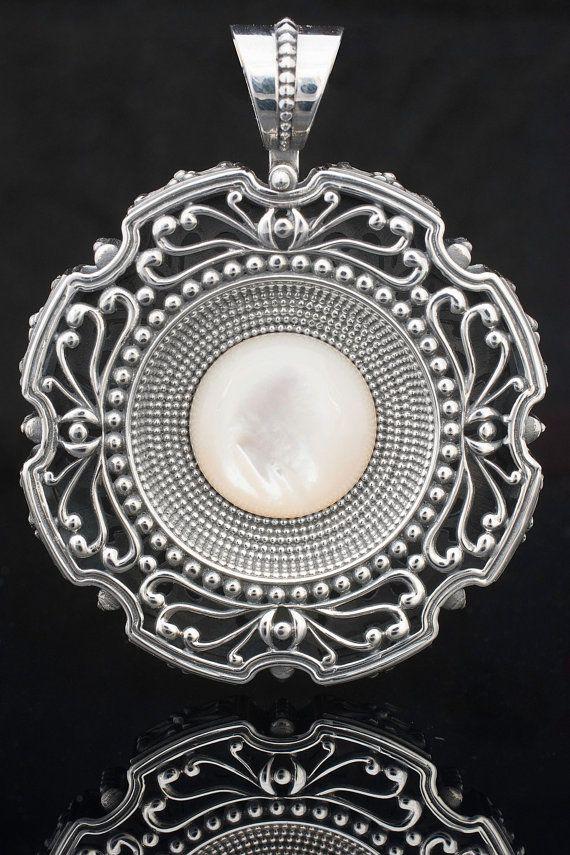 Handmade Sterling Silver 925 Pendant Byzantine by YianniJewellery