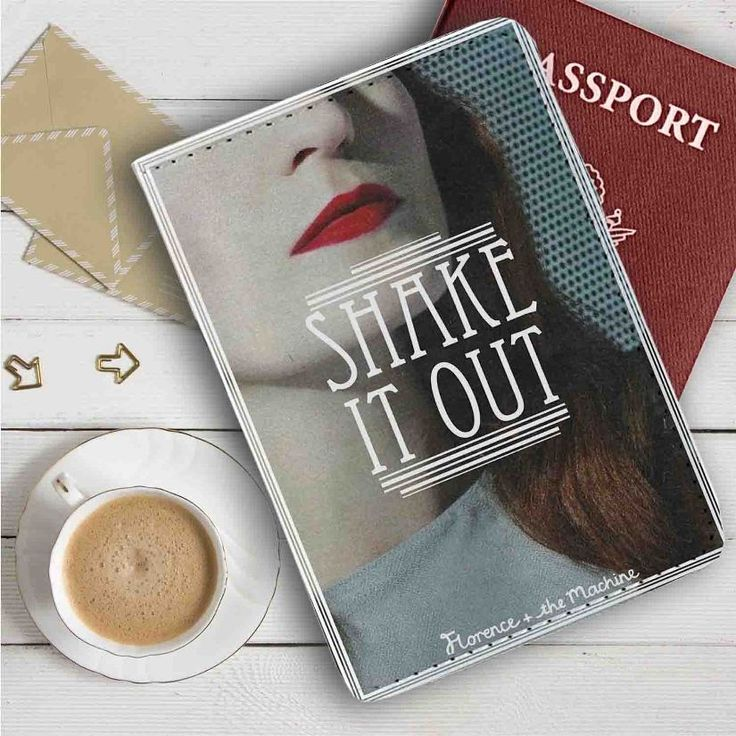 Florence and The Machine Shake It Out Leather Passport Wallet Case Cover