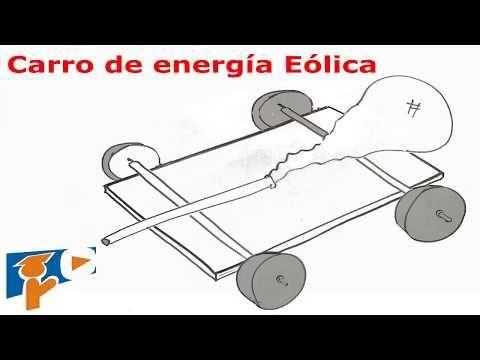 (12) Carro de energía eólica | Cómo construirlo, fácil para niños. \ Wind energy vehicle. - YouTube