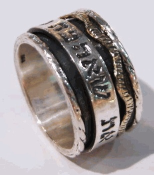 $180 I have found the one my soul  loves - Love message ring