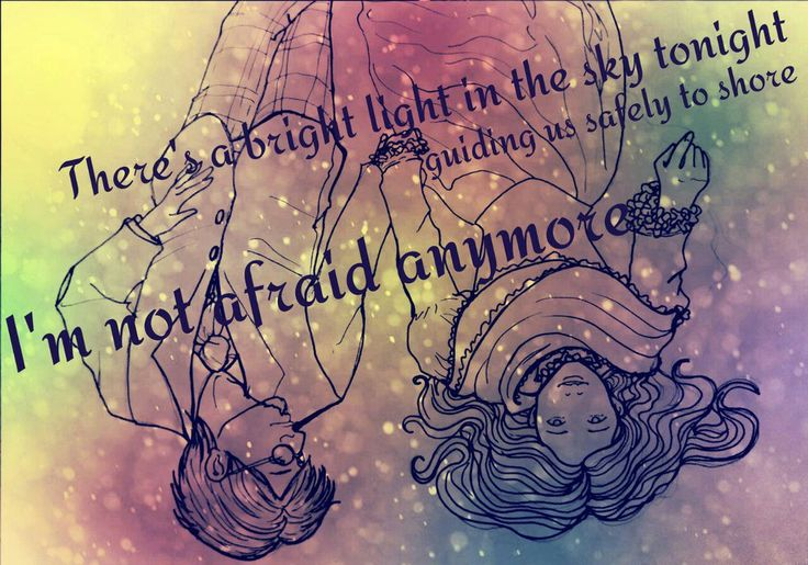 Not Afraid Anymore - Outline Only by RobynODriscoll