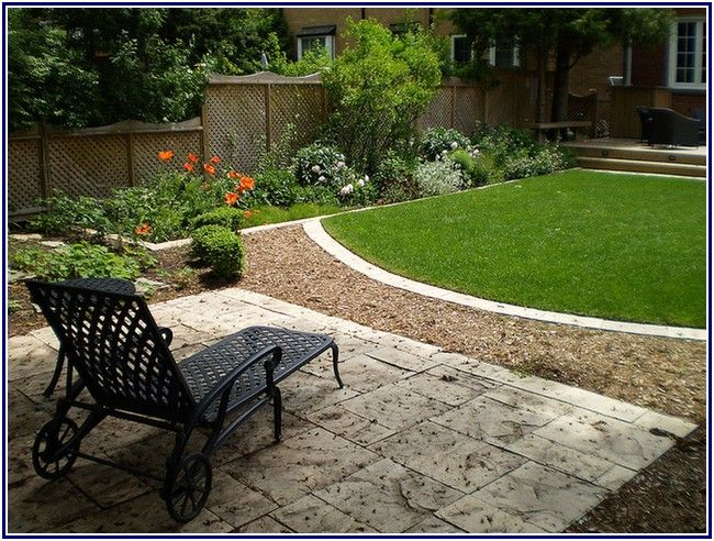 Crewy small backyard landscaping ideas jardines for Small backyard garden plans