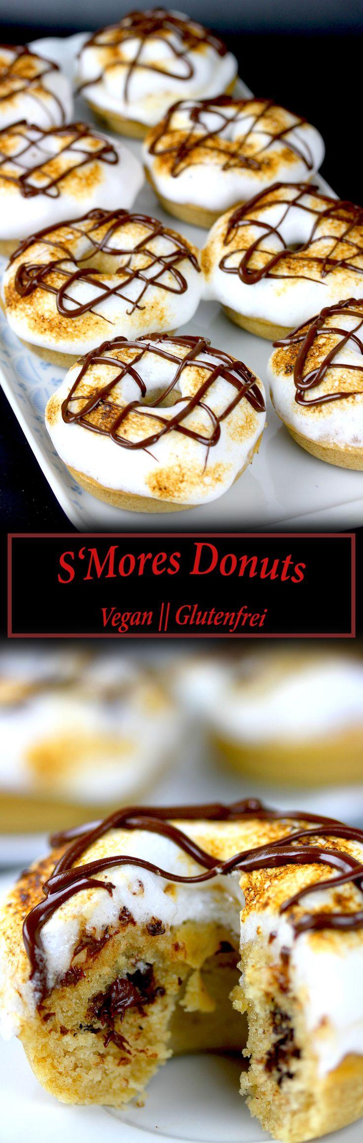 S'Mores Donuts - Vegan und Glutenfrei
