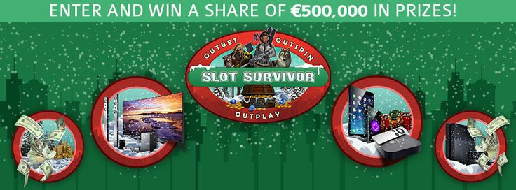 The #SlotSurvivor is here! Outbet! Outspin! Outplay!