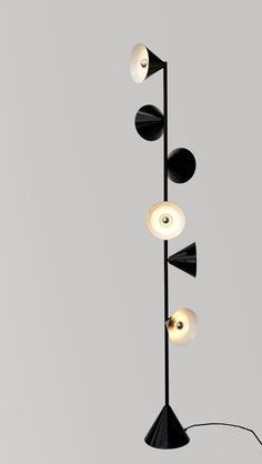Floor lamps for your next projects | http://www.delightfull.eu #delightfull #uniquelamps #floorlamps #livingroomlighting
