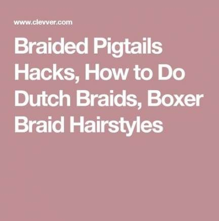 56+ ideas for braids how to boxer