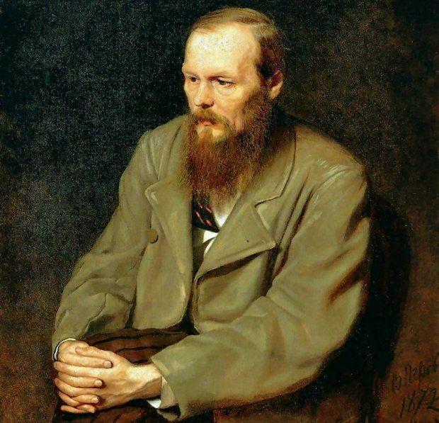 Fiodor Dostojewski (1821-1881, fragment obrazu Wasilija Pietrowa z 1872 r.) zdaniem swego wieloletniego znajomego pisarza Iwana Turgieniewa miał paskudny charakter i był