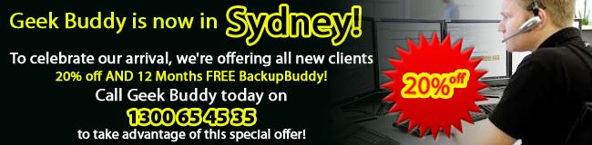 Geekbuddy will provide you with expert technicians to carry out onsite computer repairs and provide IT support in Sydney.We also offering mobile computer  repair and laptop repair.
