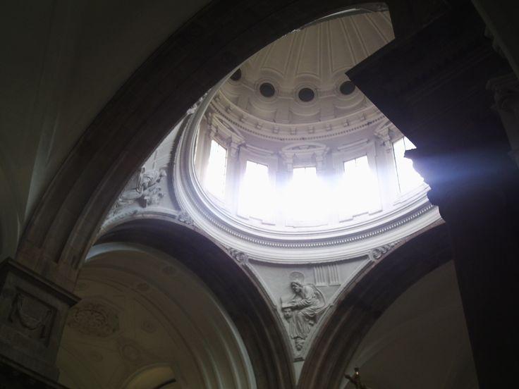 Cúpula interior de la Catedral de Ciudad de Guatemala