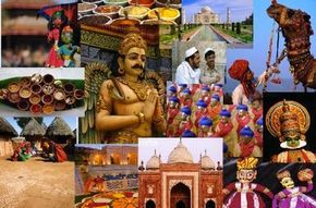 The customs and traditions of India have been reformed and molded by the long and dynamic history of Indian society. Through its distinct geography and social adaptation to new cultures, traditions customs, and ideas, and national heritages, India stands as a monumental example of cultural and social diversity.