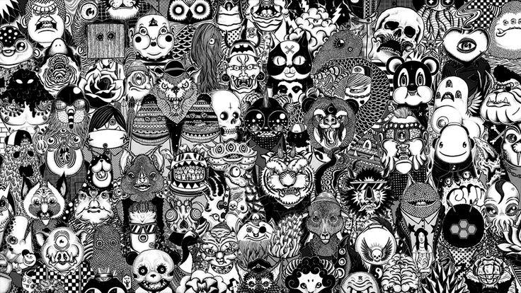 The Rhombians by Gerald L. http://blackrhombi.tumblr.com/post/10343081853