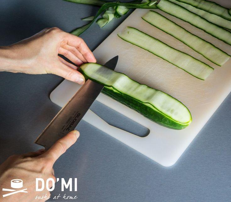 Jak zrobić gunkan maki z ogórka?