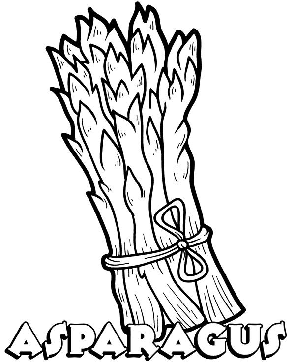 Check More Vegetables Coloring Sheets For Children On