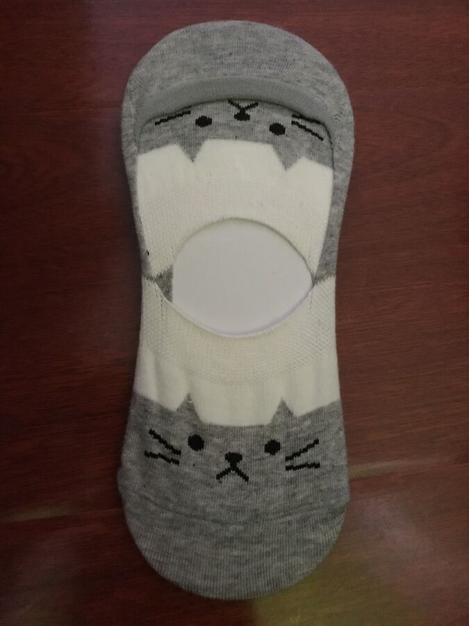 Excellent Liners Footies Invisible Women Socks Cotton Hosiery M1 by Aurellie
