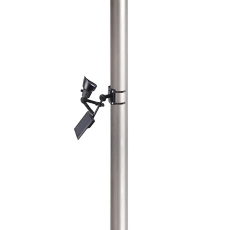 Moonrays Premium Output Solar Powered LED Flagpole Light - 92320