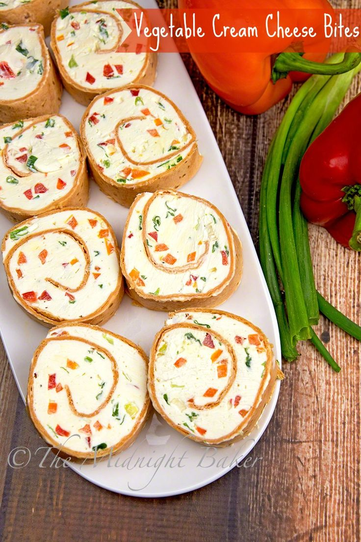 Make a big batch of this vegetable cream cheese to last through the holidays!