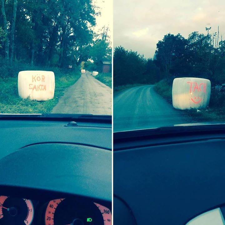 Livet på landet! #countrysidelife #haybalesrock #smileyseverywhere http://ift.tt/2jsfQSr