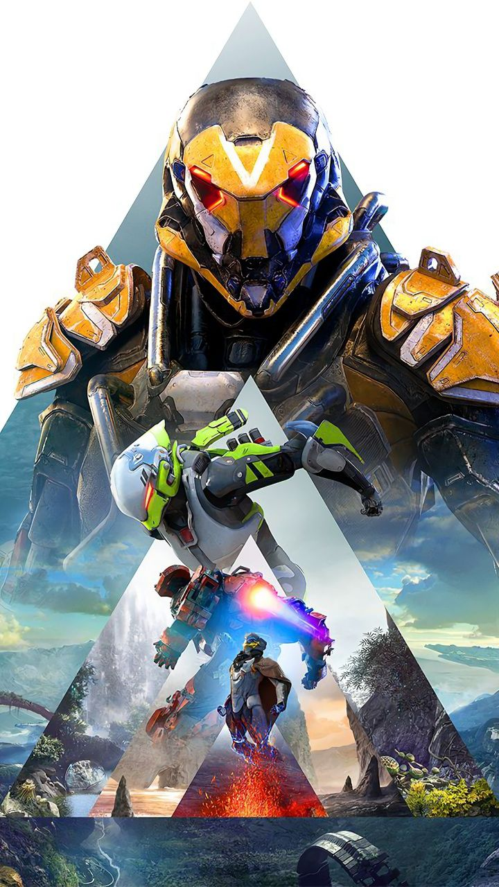 X Anthem Video Game Pyramid Poster Wallpaper