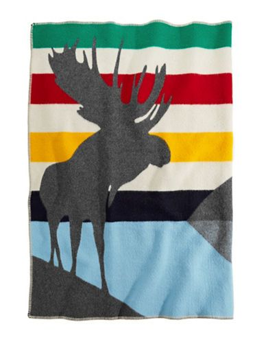 HBC Collections | Blankets | Charles Pachter Baywatch Throw | Hudson's Bay