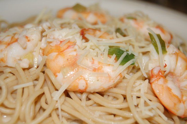 Shrimp Scampi with Pasta | Food Glorious Food | Pinterest
