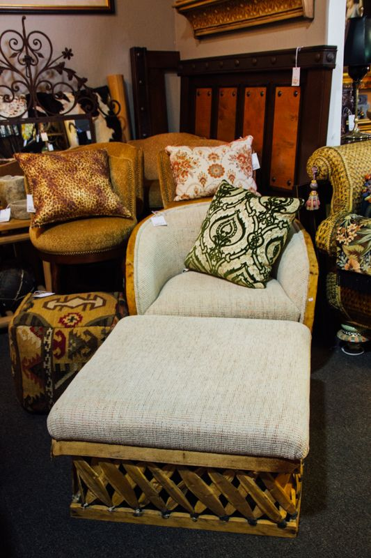 A Versatile Chair And Ottoman That Can Be Used Indoor Or Outdoor. Donu0027t. Consignment  FurnitureScottsdale ...